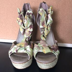 Rachel Roy Wedge Sandals